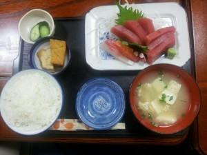 500円 刺身定食