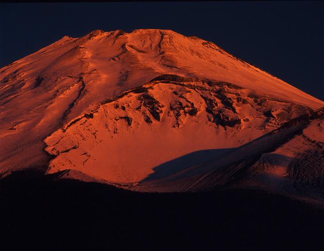 リアル赤富士