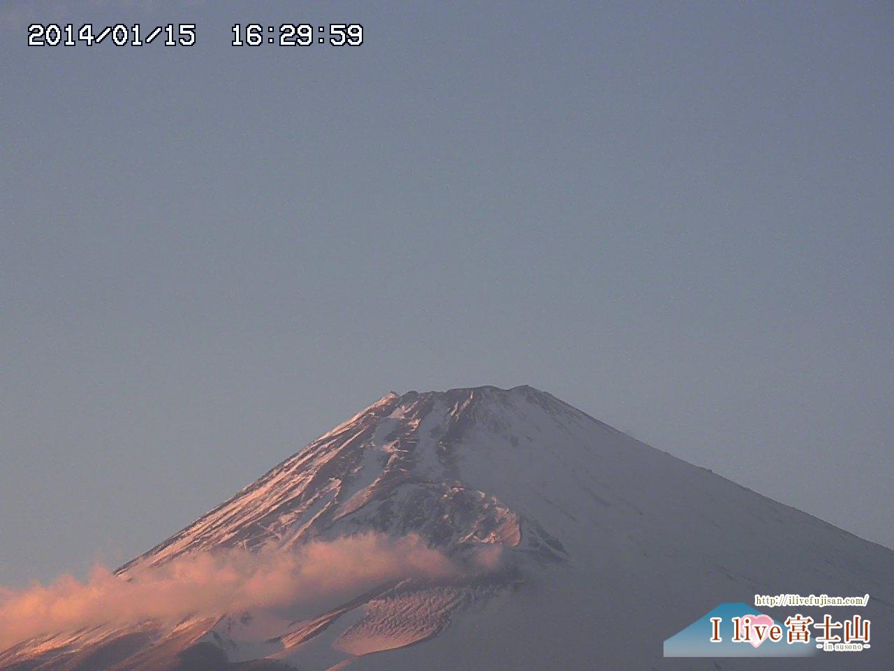 粉雪 富士山