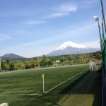 裾野市 今里からの富士山