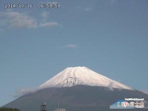 2014 富士山 初冠雪